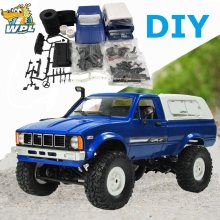 WPL C24 2.4g DIY RC Auto KIT Afstandsbediening Auto RC Crawler Off-road Car Buggy Moving Machine RC Auto 4WD Kinderen Speelgoed verkoopbevordering(China)