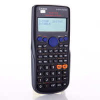 FX 82ES PLUS A New Scientific Calculator With Dual Power 12 Digits Free Shipping 1 Piece