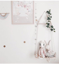 Nordic Style Wooden Shelves