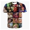 Alisister Nicolas Cage Rage Camiseta de La Camiseta 3d de moda de verano camiseta corta mujeres hombres camisetas divertidas anime estrellas camiseta de manga tops