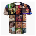 Alisister Nicolas Cage Rage T-Shirt tee summer fashion 3d tee short sleeve womens men funny t shirts anime stars t shirt tops