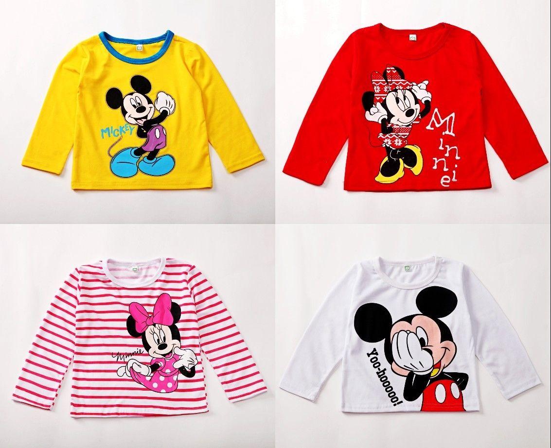 toddler kids clothes baby boys girls carton minn ie mickry m