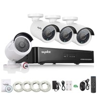 ANNKE 4CH NVR 960P IP Network PoE Video Record IR Outdoor Security Camera System