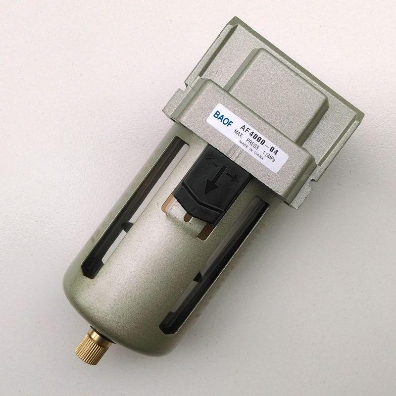 Air filter af4000 04 1 2 39 39 pneumatic air water filter for Filtre waterair