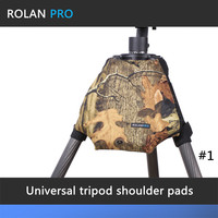 ROLANPRO Camera Camouflage Rain Cover Raincoat for Universal Tripod Shoulder Pads Guns Clothing Gitzo Manfrotto Benro Sirui RRS
