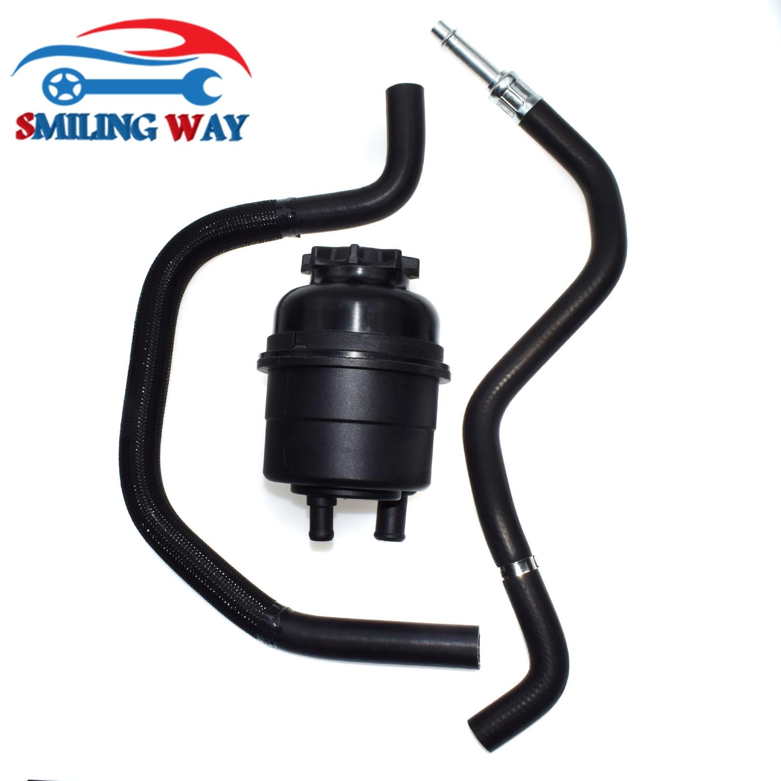 Power Steering Pressure Hose Pipe Fluid Tank Reservoir For BMW E39 E46 X5 Z3 320 323