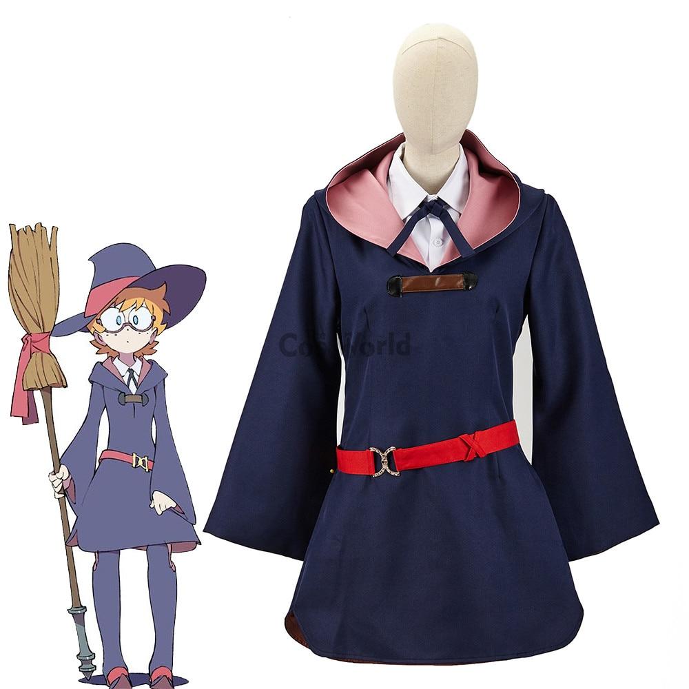 Little Witch Academia Lotte Yanson Shirt Dress Uniform