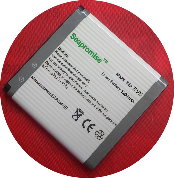Livraison gratuite détail mobile téléphone EP500 batterie pour Sony Ericsson Xperia X8 E15i, U5i, U5, WT19I, U8I, SK17i, ST17i, WT18i