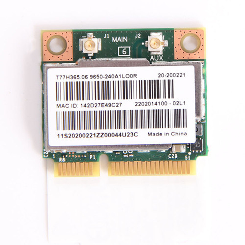 Doble banda Broadcom BCM943228HMB 802.11a/b/g/n 300 Mbps Wifi tarjeta inalámbrica Bluetooth 4,0 de mitad de semestre MINI PCI-E Notebook WiFi 2,4 Ghz, 5 Ghz