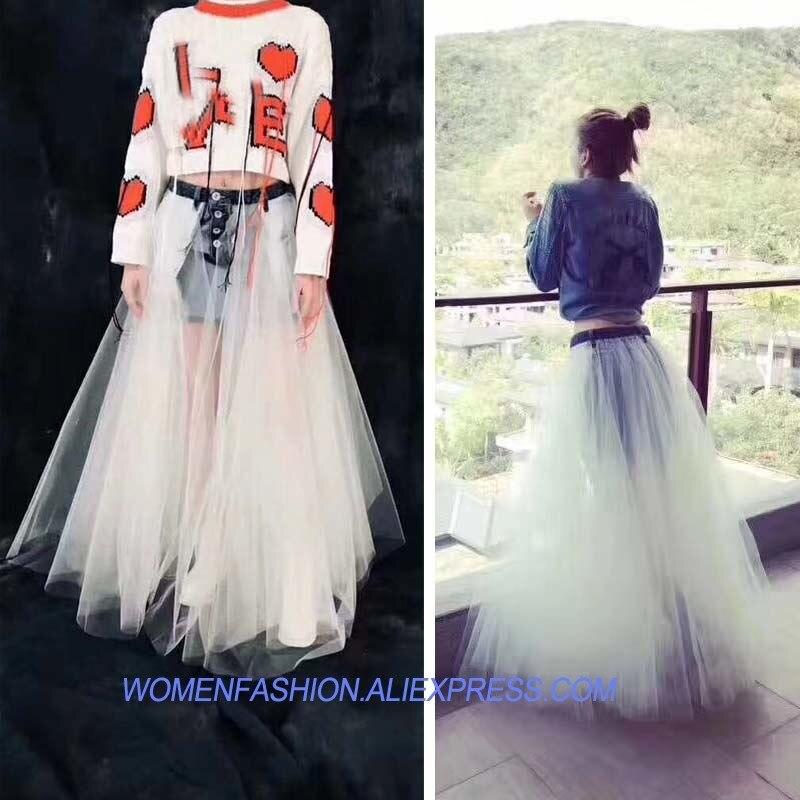 Faldas Femmes Denim La Blanc Grand Longue Est Jupes Jupe Et De Mode Saias Rave Tutu Tulle Sexy r4BwZrq