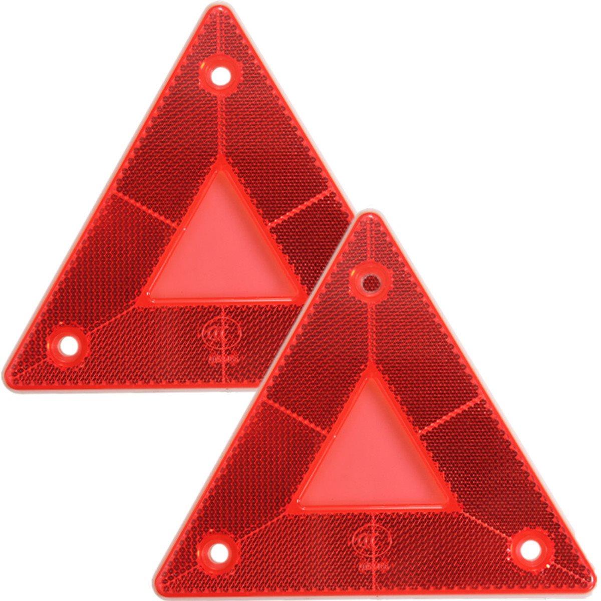 Доска 2шт задний фонарь автомобилей грузовой автомобиль прицеп пожарный треугольник отражатель Сафти предупреждение