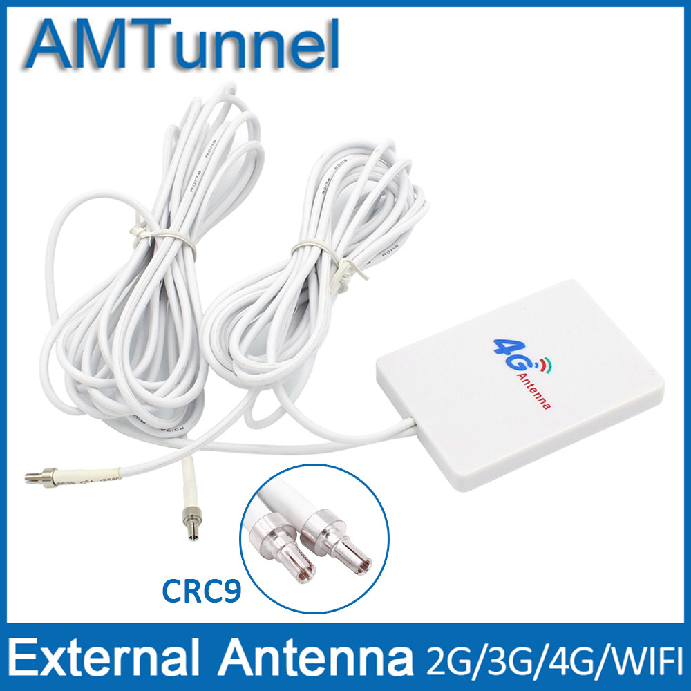 4G LTE Antenna 3G 4G antenna esterna WiFi Antenna Rotuter con CRC9 3 m cavo per Huawei 3G 4G LTE Modem Router Aerea