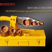 BOSSDEN 20-63 мм пластиковая трубка для стыковки труб PE/ppr/вода/газ Геотермальная Сварка труб сварочные инструменты машина горячего расплава