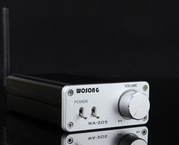 Finished WA-205 HiFi Bluetooth Analog Amplifier Stereo Dual 50W+50W Audio Power Amp New цена