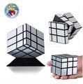 ShengShou Espelho Mágico profissional Cubo 3x3x3 Gold & Silver Elenco Revestido Torção Enigma Velocidade cubo magico aprendizado & educação Brinquedos