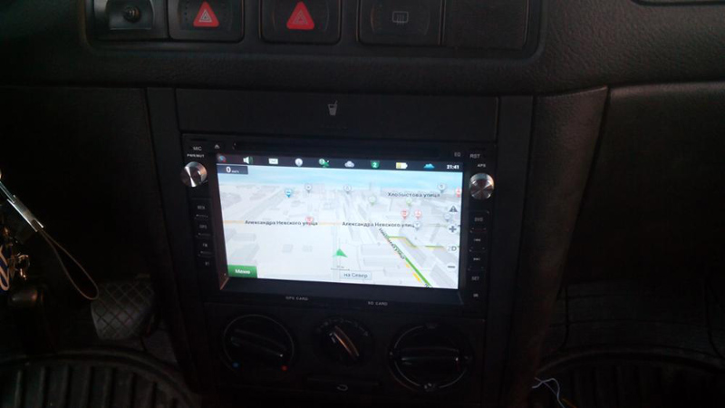 GPS Android9.0 descuento GOLF4