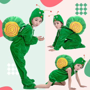 Childrens Day Animal Snail Costume Christmas New Year Halloween Show Adult
