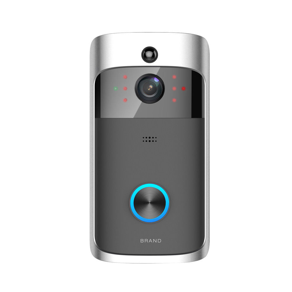 Video Door Bell WIFI HD Waterproof 720P Doorbell Camera 2pcs Dingdong For IOS Night Vision Timbre Con Camara in Doorbell from Security Protection