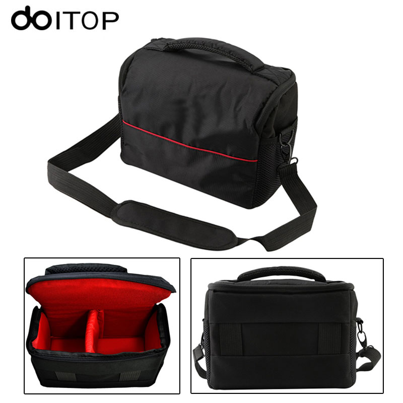 DOITOP DSLR Digital Camera Handbag Shoulder Carry Bag Case Shockproof Waterproof Protector For Canon EOS Cameras