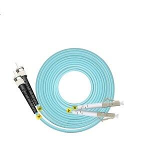 Image 5 - 10 м LC SC FC ST UPC OM3 волоконно оптический соединительный кабель Дуплекс Перемычка 2 ядра патч корд Многомодовый 2,0 мм патчкорд из оптического волокна