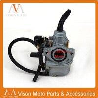 KEIHIN 19mm PZ19 Hand Choke Carburetor 50cc 70cc 90cc 110cc Dirt Bike ATV Quad GY6 Motorcycle