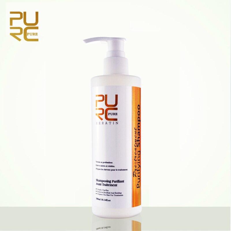 Aliexpress.com : Buy PURC Purifying Shampoo 300ml Keratin Hair Treatment Deep Cleansing Hair