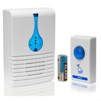 Digital LED 32 Tune Songs Musical Wireless Room Doorbell Ring With Remote Control 100M Range Home