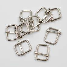 (10 pieces/lot)  DIY clothing accessories. Metal adjustment buckle. Ribbon backpack. Bags, Ms. strap.