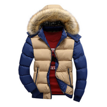 2017 Fashion Brand Clothing Men's Winter Jackets Thick Hooded Fur Collar Parka Men Coats Casual Padded Men's Jackets