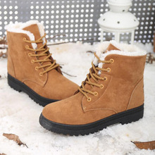 Snow boots winter ankle boots women shoes plus size shoes 2016 fashion heels winter boots fashion shoes