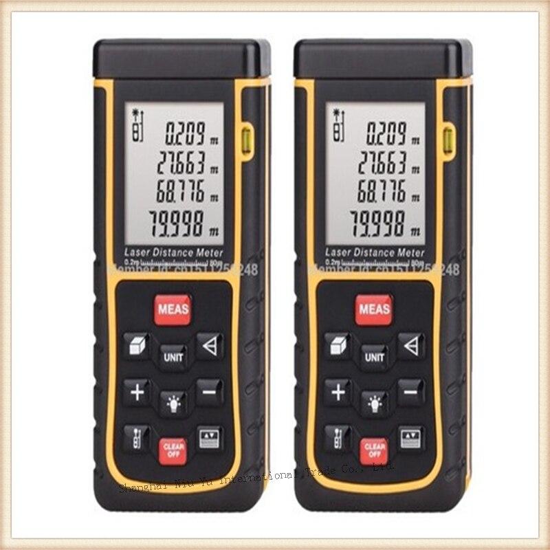 RZ-80 80m Laser golf distance meter Rangefinder for hunting range finder Tape measure Area/volume  medidor laser distancia  цены