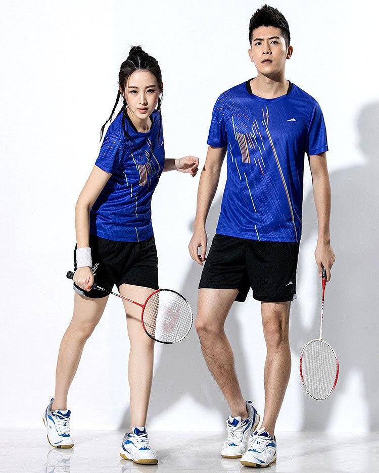2018 New Badminton shirt , Tennis shirts Men / Women, Quick dry Tennis tshirts ,Table Tennis shirts , Ping Pong  sports shirt