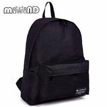 MIWIND Fashion Women Backpack For Girls 2016 Backpacks Black Backpacks Female Fashion Girls Bags Ladies Black Backpack