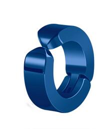 wholesale 2PCS>1Pair Jewelry for women Men Earring No pierced ears Chic Rock Mens Stud Stainless Steel Titanium Earrings