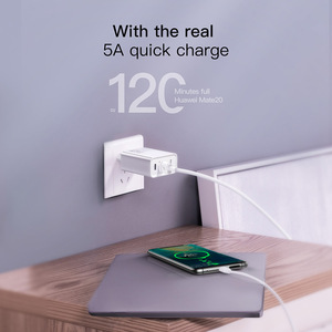 Image 4 - Baseus 30W Quick Charge 4.0 3.0 USB Charger for Xiaomi Supercharge Dual USB Type C PD 3.0 Fast Charger for iPhone X XS Huawei 5A