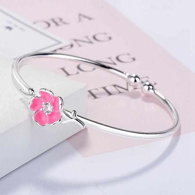 Cherry Blossoms Silver...