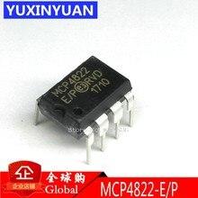 5 pièces/lot MCP4822-E/P MCP4822-EP MCP4822E/P MCP4822EP MCP4822 IC DAC 12BIT double W/SPI 8DIP