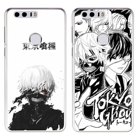 For huawei honor 7x 8x honor 8 lite case Tokyo Ghoul cartoon anime plastic silicon cover case phone bags free stand holder