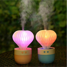 GRTCO 150ML Colorful LED Light Air Ultrasonic Humidifier USB Car Humidifier Mini Aroma Essential Oil Aroma Diffuser Mist Maker