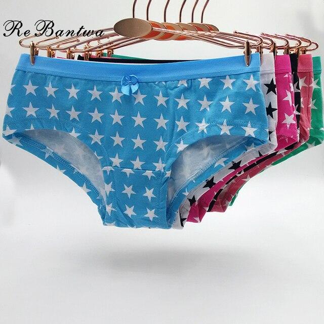 bb04ce8ce1877 Rebantwa 10 pièces Stretch Culotte Lot calcinha Dames Culottes Femmes Sous-Vêtements  Fille Slip Boxer