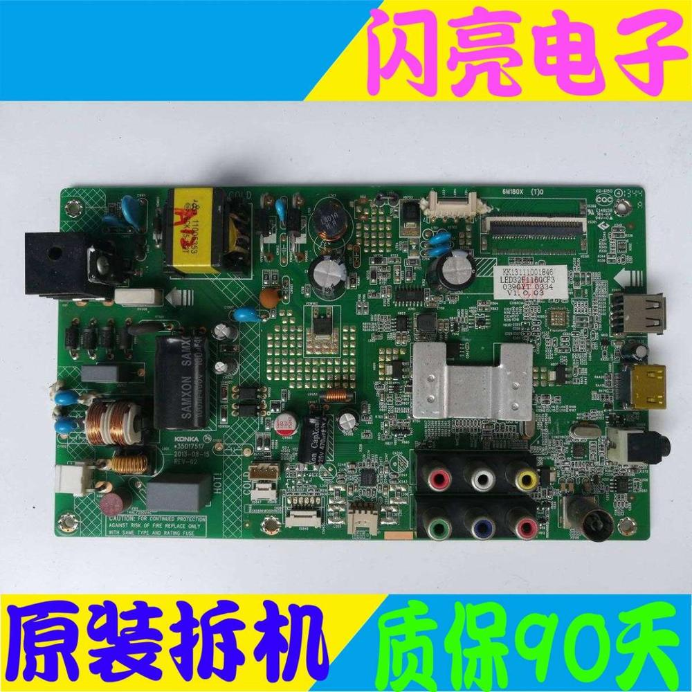 Main Board Power Board Circuit Logic Board Constant Current Board Led 32f1100cf Motherboard 35017517 With 390yt Screen Pure White And Translucent Audio & Video Replacement Parts Circuits