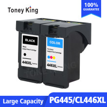 Toney king PG-445XL pg445 CL-446 xl substituição do cartucho de tinta para canon pg 445 cl 446 para canon pixma mx494 mg2440 mg2540