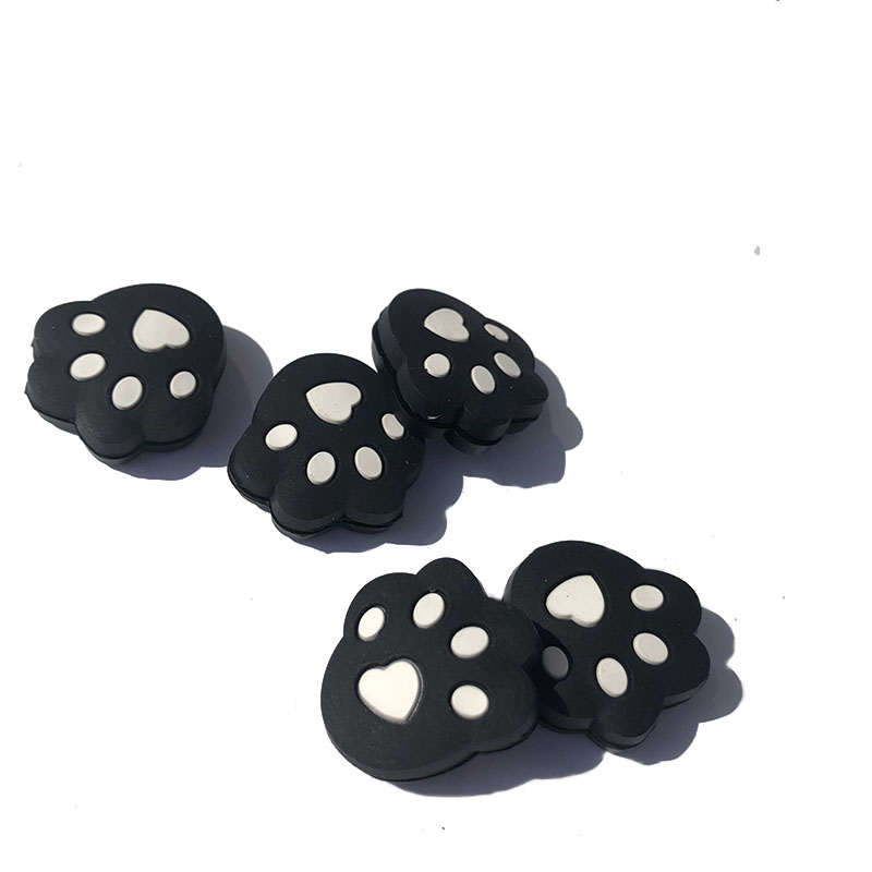 5pcs Silicone PAW Tennis Damper Shock Absorber To Reduce Tenis Racquet Vibration Dampeners