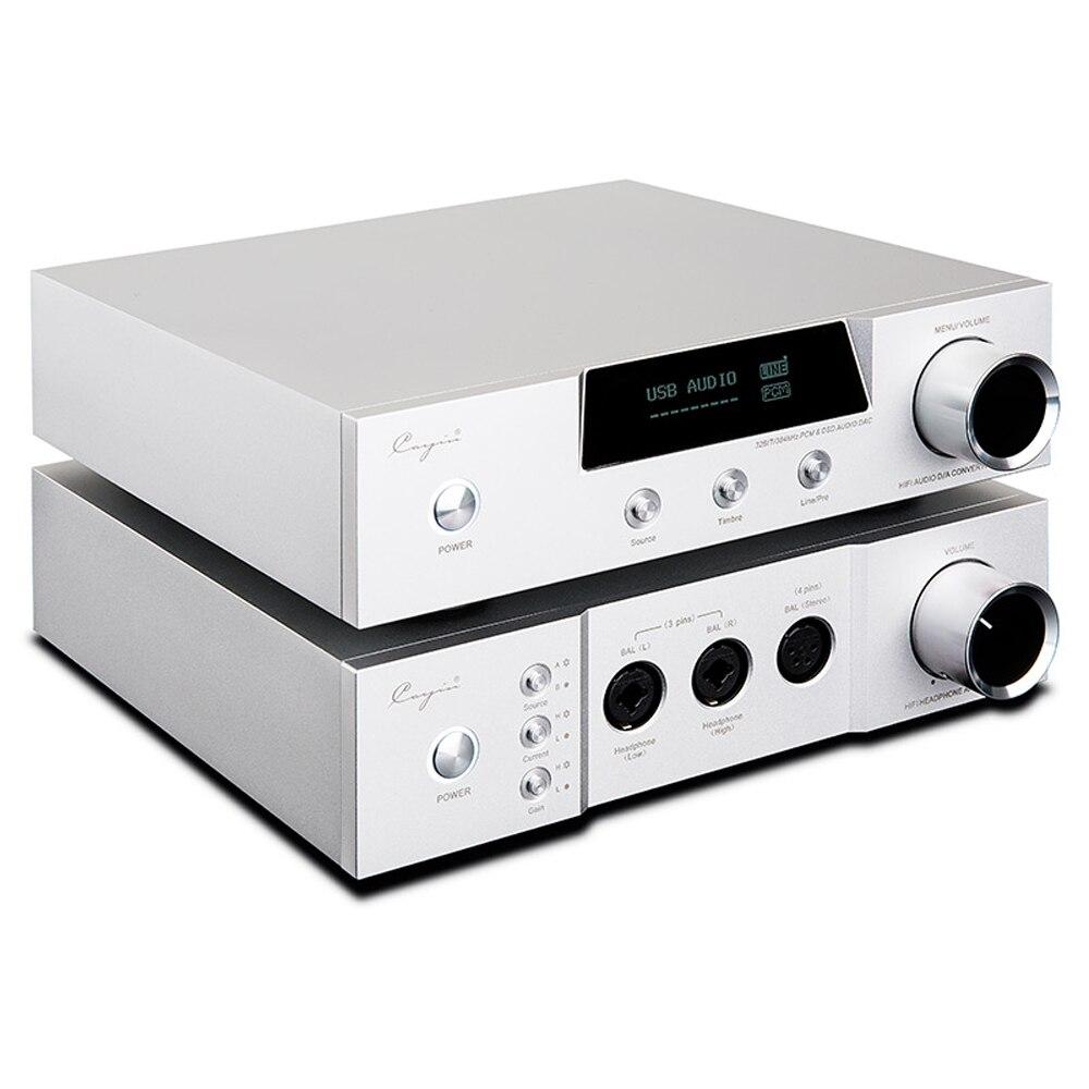 New Cayin iDac-6 & iHA-6 66 Set  IDAC-6 Audio Decoder IHA6 Full Balanced Headphone Amplifier HIFI Tube AMPs Aluminum Enclosure fanmusic 6p1 usb decoder tube amplifier