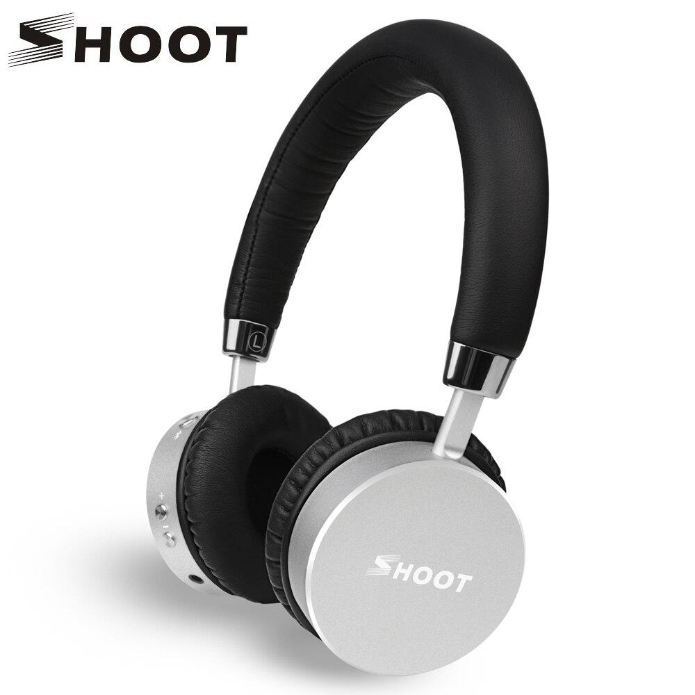 SCHIEßEN Drahtlose Bluetooth Kopfhörer mit Mikrofon Dynamische Stereo Wireless Headset für iPhone Xiaomi Meizu Android Musik Telefon