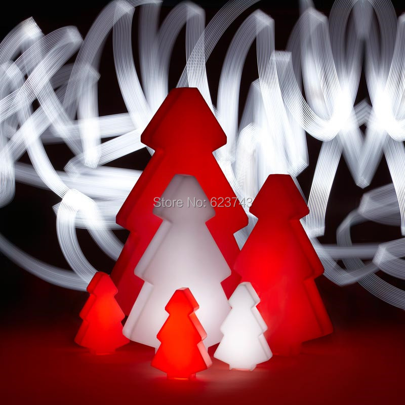 1 piece waterproof outdoor color changeable LED light tree of led floor lamp for Christmas decoration lighting