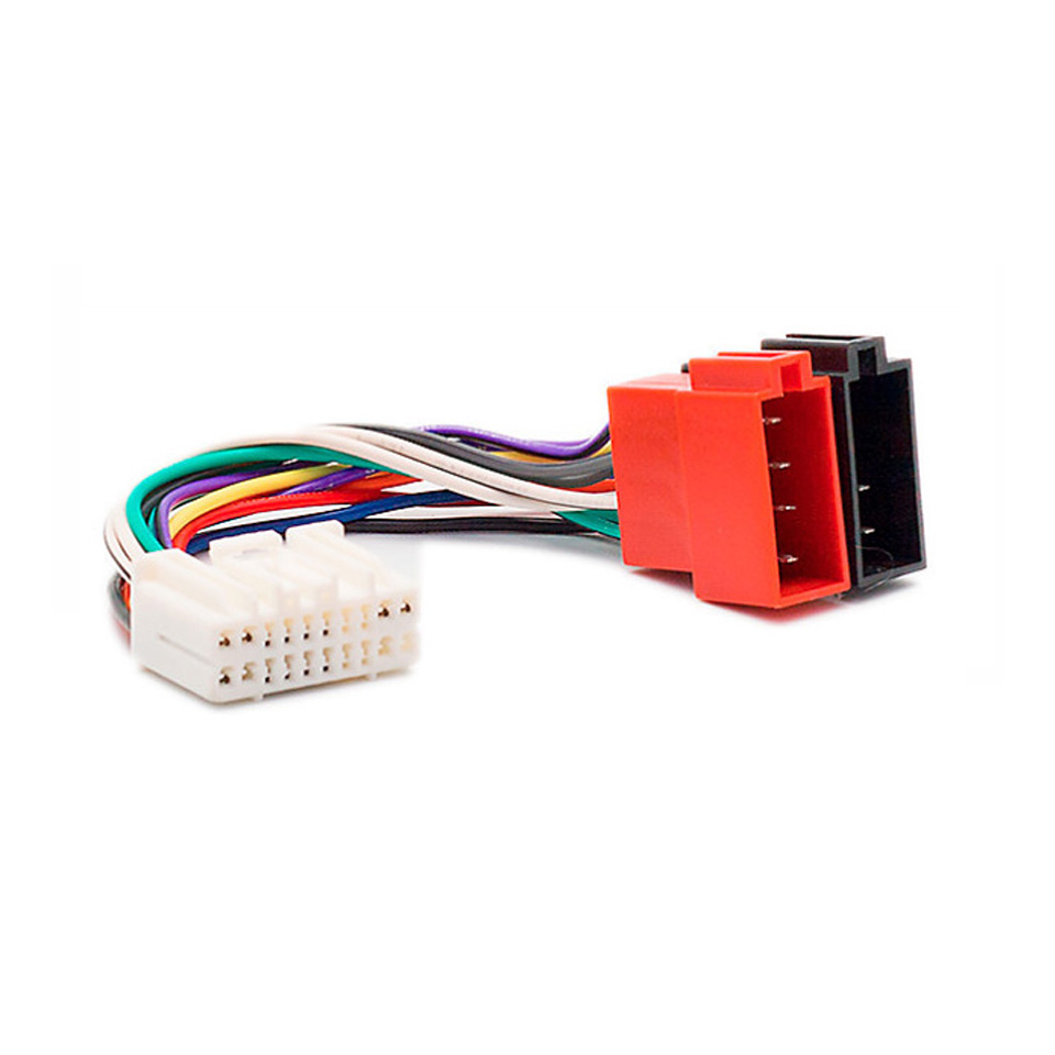 small resolution of car iso wiring harness radio adapter connector for honda 1999 acura1999 suzuki 2001 stereo