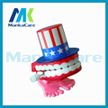 20 Pcs Toys wholesale spring Creative Dental Gift Dental Funny Wind-up Bouncing Teeth Toy Dentist Toy Dental Jump tooth teeth