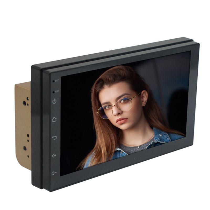 2019 nouveau 1 Set universel 7 pouces écran tactile autoradio multimédia vidéo MP5 lecteur Bluetooth GPS carte navigateur Auto stéréo dispositif