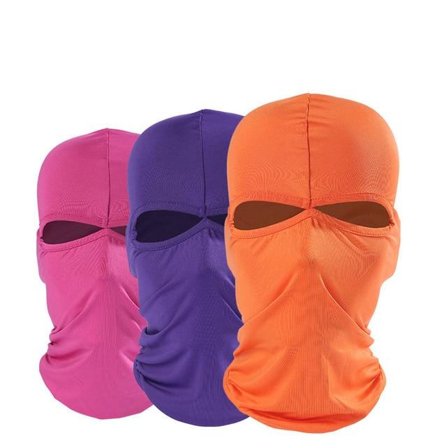 Motorcycle Face Mask Summer Unisex Breathable Balaclava Moto Mask Ski Motorcycle Paintball Tactical Face Shield Hood 3